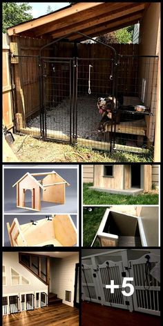 Built a dog kennel on the side of my shed , - dog kennel boarding Collie, Building A Dog Kennel, Plastic Dog Crates, Dog Kennel Cover, Dog Boarding, Dog Houses, Dog Pictures, Pet Care, Beautiful Pictures