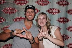 Luke Bryan loves us <3
