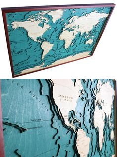 http://sosuperawesome.com/post/167791170782/laser-cut-wooden-maps-including-world-europe