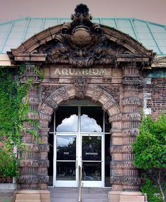 """Aquarium, Belle Isle, Detroit. Spent childhood summers on Belle Isle...I was blessed to have """"city grandparents"""" as well as """"yooper grandparents"""""""