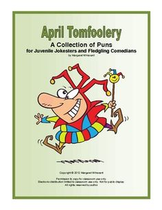 April Tomfoolery Free Printable for Grades 4-8