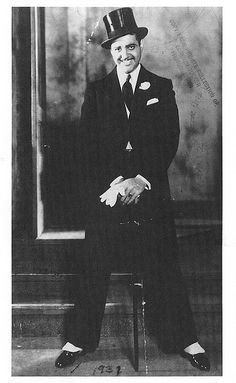 """Lorenzo Tucker (1907 – 1986), known as the """"Black Valentino,"""" was an African-American stage and screen actor who played the romantic lead in the early black films of Oscar Micheaux."""