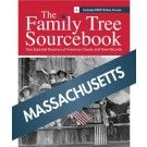 Family Tree Sourcebook: Massachusetts Genealogy Guide Digital Download
