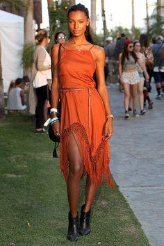 Jasmine Tookes en Urban Outfitters