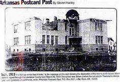 Photo of School after 1913 Tornado