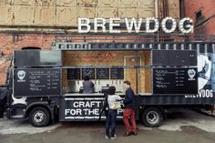 HERE COMES THE BREWTRUCK! - BrewDog