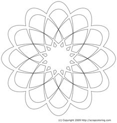 Mandala coloring pages. These Mandala pictures are online coloring pages that can be colored with color gradients and patterns. Printable coloring pages are also included if you prefer to color with paper and crayons. Mandala Design, Mandala Art, Mandala Tattoo, Rose Window, Geometric Drawing, Art Folder, Dot Art Painting, Mandala Coloring Pages, Zentangle Patterns