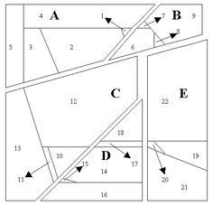 Patchwork patroon: Kip