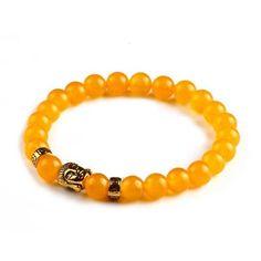 Buddha Bracelets - Yellow