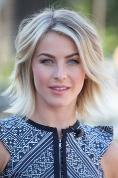 Blow it OUT | Switch up your blowout by brushing the hair out. See how it instantly opens up Julianne Hough's face without the use of any clips or bobby pins. via @stylelist