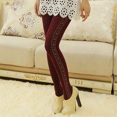 Aliexpress.com: Comprar Adelgazamiento Sexy mujeres panti Rose diseño femme kawaii medias collant medias sexy Moda Femenina de leggings con lados escarpados fiable proveedores en Panda Z