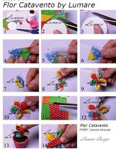 Fuxico Catavento by Lumare