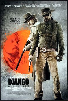 A great Django Unchained movie poster! Jamie Foxx and Christoph Waltz star in the tale of revenge by Quentin Tarantino. Check out the rest of our fantastic selection of Quentin Tarantino posters! Need Poster Mounts. Quentin Tarantino, Tarantino Films, Christoph Waltz, Pulp Fiction, Leonardo Dicaprio, Django Unchained Soundtrack, Film Movie, Django Desencadenado, Django Unchained