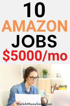 Looking for the best Amazon jobs from home to earn money? If yes, be sure to check out this article. Amazon Work From Home, Legit Work From Home, Legitimate Work From Home, Work From Home Jobs, Amazon Jobs, Amazon Hacks, Work From Home Companies, Work From Home Opportunities, Earn Money Online