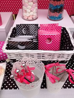 Lolly buffet party bags