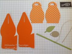 Stampin Up Curvy Keepsake die - tutorial how to make a 2 colour box. Tute by Melissa