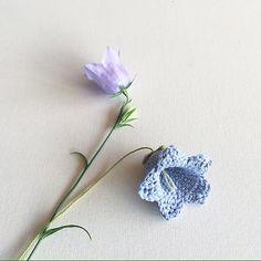 Flowers - Blue bell - Hoa chuông xanh - Free Pattern