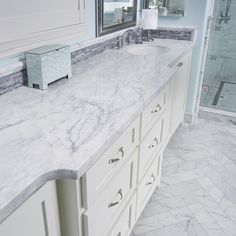 Arizona Tile carries Bianco Venatino in natural stone marble slabs selected for its crisp, vibrant white and pencil-thin veining. Marble Slab, Marble Tile, Calacatta Marble Tile, Stylish Room, Home Cooler, Marble Mosaic Tiles, Marble Mosaic, Stone Tiles, Natural Stone Tile