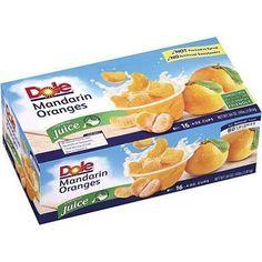 Dole Mandarin Oranges in 100% Fruit Juice - 4 oz.