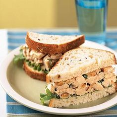 Rosemary Chicken Salad Sandwiches | Cookinglight.com