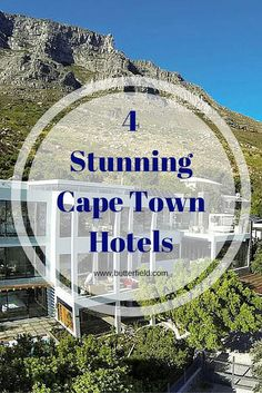 4 Stunning Cape Town Hotels.  http://www.butterfield.com/blog/2014/10/08/cape-town-hotels/  #travel #holiday #vacation #Cape #Town #Africa #myBNR