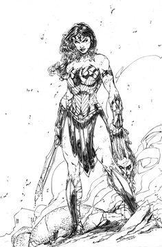 Wonder Woman by Brett Booth