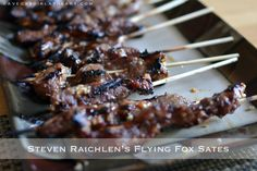A Vegas Girl at Heart: Steven Raichlen's Flying Fox Sates