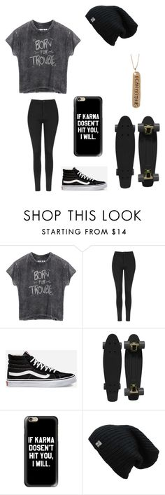 """Untitled #120"" by darksoul7 on Polyvore featuring Topshop, Vans, Retrò, Casetify and Alisa Michelle"