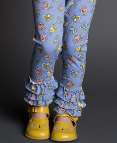 Short Circuit Leggings Matilda Jane Girls Clothing