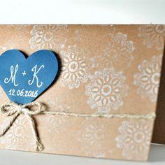 winter wedding invitation rustic blue DIY handmade love zimowe wesele zaproszenia ślubne moje wielkie wiejskie wesele