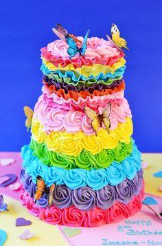 Rainbow Cake : 네이버 블로그