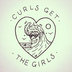 Curls Get the Girls ~ Jamie Browne jamiebrowneart.com