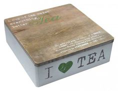 I Love Tea - Tea Box