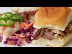 Bacon-Wrapped Slow Cooker Pulled Pork - YouTube