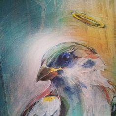 UNTAY #sparrow #work_in_progress #spray #acrylic