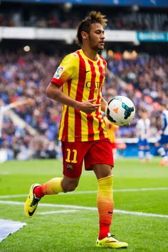 Neymar Santos Jr of FC Barcelona