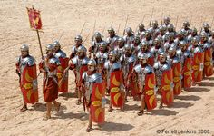 Roman soldiers and chariot races at Jerash | Ferrell Travel Blog