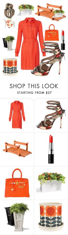 """Summer Hermes Birkin Bag...."" by kotnourka ❤ liked on Polyvore featuring Diane Von Furstenberg, Tabitha Simmons, Improvements, Bobbi Brown Cosmetics, Hermès, Grandin Road and Orla Kiely"
