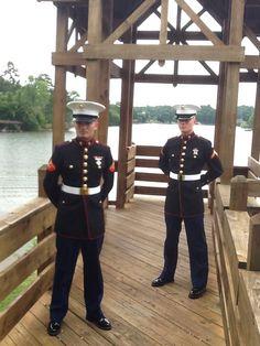 My twin Marine sons