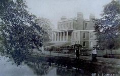 Clissold House and the New River, Clissold Park, Stoke Newington