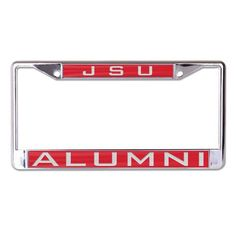 Jacksonville State Gamecocks License Plate Frame - Inlaid - Alumni
