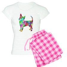 Multi Color Chihuahua Pajamas