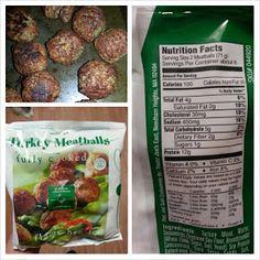 Shannon's Lightening the Load: Dinner: Carba-Nada Pasta with Trader Joe's Turkey Meatballs