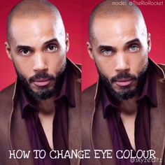 HOW TO CHANGE EYE COLOR TUTORIAL! Is he better with #BlueEyes or #BrownEyes ? @TheRioRocket #FilmActor - . . . . . ________ #ActorsLife�
