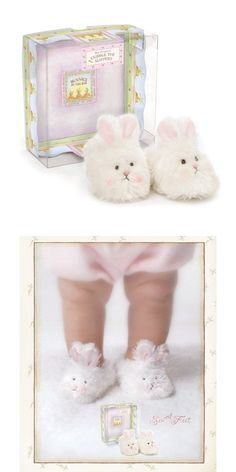 Our Bunny Slippers are cuddly, soft and oh so sweet, they'll give baby hoppy feet! Faux-fur with knit lining. Perfect for Easter basket or new baby girl. Gift boxed. Machine wash, Line dry. www.nobleniches.com #newbaby #babygirl #pregnancy #newmom #babysfirst #Easter #Easterbasket #bunnyslippers #puppy #puppydog #babyshoes #grandma #grandmother #babyshowergift #babyslippers #nobleniches #sardismarketplace #Charlottebaby