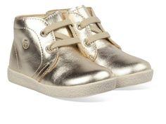 Bronzen/Gouden Naturino kinderschoenen Falcotto 1195 boots
