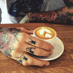 Tattoos are almost as awesome as coffee.....
