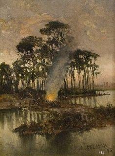 Antoni Muñoz Degrain- Orillas del Tiber-,1893