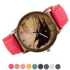 >> Click to Buy << 2017 Unisex Retro Clock Wolf WristWatch Women Men Fashion Cowboy Leather Band Analog Quartz Watch Relogios Masculino #Affiliate