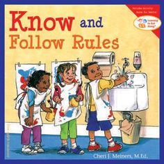 This following rule art clip shows that even following or doing what a teacher asks of you can show that you are very respectful